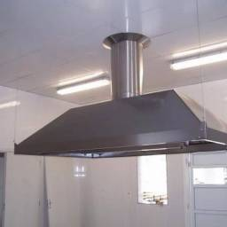 Coifa para cozinha industrial - sob medida