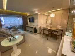 Spazzio Verdi - 3 suites - Lagoa Nova - Mobiliado - Reformado - Andar Alto