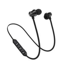 Fone de ouvido magnetico sem fio