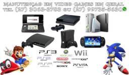 Tecnico Video Games/Orçamento na hora/Console e controles/Assistencia na loja !!!!!