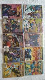 Gibis Liga da Justiça e Batman