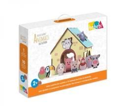 Passa Figuras - Animais da Fazenda   Brinquedo Educativo