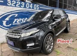 Título do anúncio: Range Rover Evoque 2.0 Prestige 4wD 2012 Placa i