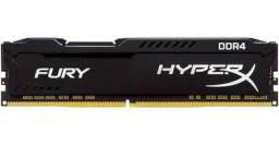 Memória Ram DDR4 HyperX Fury, 16GB, 2666MHz