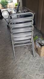 Kit de cadeira em alumínio