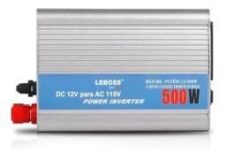 Transformador Inversor Conversor 12v 110v 500w Veicular<br><br>