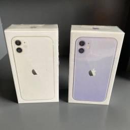 iPhone 11 64GB branco, lilas e preto (LACRADO)
