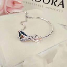 Bracelete Pandora Laço Reluzente