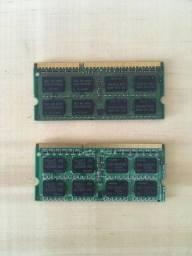 2 memórias RAM de 2GB cada