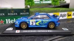 Título do anúncio: Miniatura Subaru Impreza WRC 1:43 Novo Lacrado