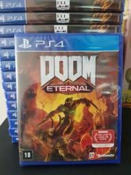 Título do anúncio: Doom Eternal PS4 Novo Lacrado