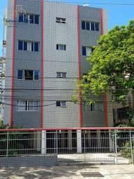 Apartamento com 3 dormitórios para alugar, 80 m² por R$ 1.800,00/mês - Boa Viagem - Recife
