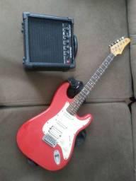 Vendo guitarra condor RX30 + cubo amplificador shedon bivolt