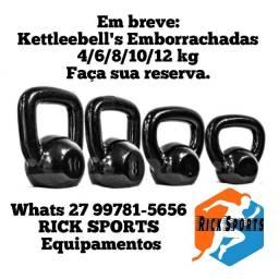 Título do anúncio: Kettlebell emborrachada á partir de R$60,00