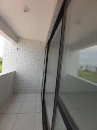 Apartamento com 2 quartos para alugar, 60 m² por R$ 1.100/mês - Bancários - João Pessoa/PB