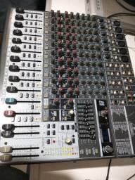 Mesa sim 16 canais beringh com efeito equalizador