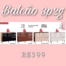 Título do anúncio: Balcão balcão 3p e 2g para cozinha