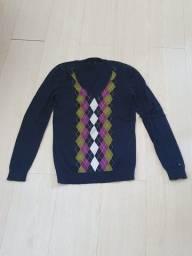 Sweater/tricot com xadrez ou lisa da Tommy Hilfiger e Farm