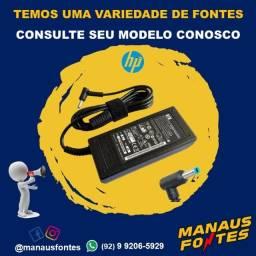 Fonte do Notebook HP Ponta Fina com Garantia de Três Meses
