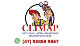 Instalação Limpeza Manutenção em Ar Condicionado