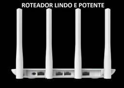 Título do anúncio: Roteador 4 antenas potente 2 E 5GHZ