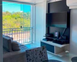 Apartamento condomínio Parque Felicitá 3 dormitórios mobiliado
