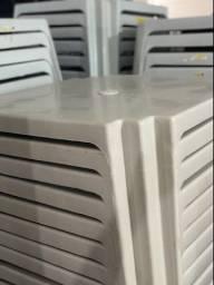 Promoção Mesa nova de plástica no atacado cor branca
