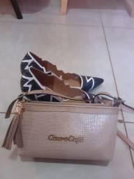 Sapato n°36 + Bolsa