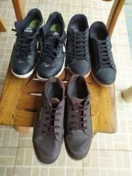 Vendo sapatos e tênis em ótimo estado.