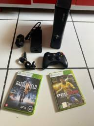 Título do anúncio: Xbox 360 + jogos + controle
