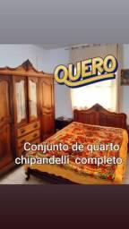 Quarda roupa e cama + criados chipandelli