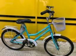 Bicicleta aro 20 azul claro ciclo cairu