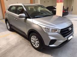 Título do anúncio: Creta Hyundai 1.6 Action Flex automática 2021 c/ 3MKM emplacada e tudo pago. Aceito troca