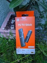 Título do anúncio: Xiaomi Mi TV Stick Android original lacrado Tv box com garantia