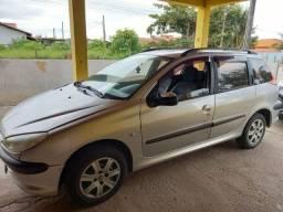 Barbada Peugeot  206