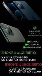 Título do anúncio: iPhone 12 128gb Novos com NF (Aceito Cartão)