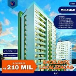 Título do anúncio: Apartamento para Venda em João Pessoa, Miramar, 1 dormitório, 1 suíte, 1 banheiro, 1 vaga