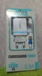 Carregador Turbo Modelo: Leon-CA01 V8