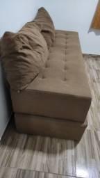 Sofá cama semi novo 420,