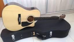 Violão Fender Classic Design Cd-60ce Com Case