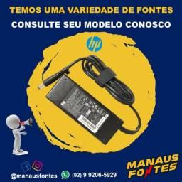 Fonte do Notebook HP Ponta Grossa com Garantia de Três Meses