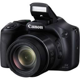 Câmera Canon Sx530hs Wi-fi 16.1mp Zoom 50x + Bolsa + Sd Card