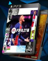 FIFA 21 PARA PS3 + 2 JOGOS BRINDE
