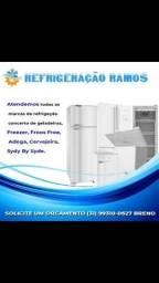 Título do anúncio: Conserto de geladeiras a domicílio assistência técnica