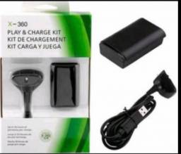 kit Bateria Recarregavel Xbox 360