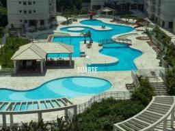 Apartamento em Santos, 02 quartos, Acquaplay 01 suíte, 01 vaga!..