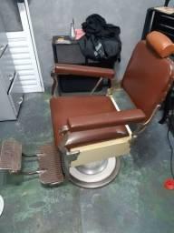 Cadeira ferrante para barbearia
