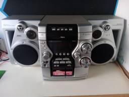 Título do anúncio: Aiwa , rádio fita, auxiliar (cd não funciona)