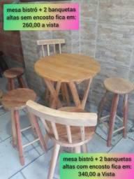 CONJUNTO BISTRÔ A PARTIR DE 260,00