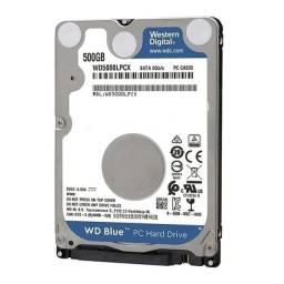 HD Western Digital Notebook 500GB
